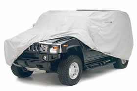 Hummer H2 - Gray WeathershieldHD Car Cover